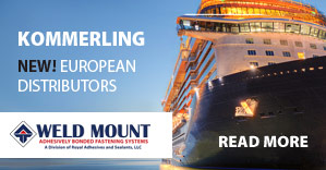 Kommerling are now European Distributors for Weld Mount